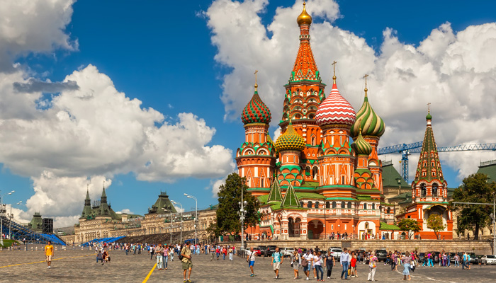 saint basil's cathedral - Russia Tour